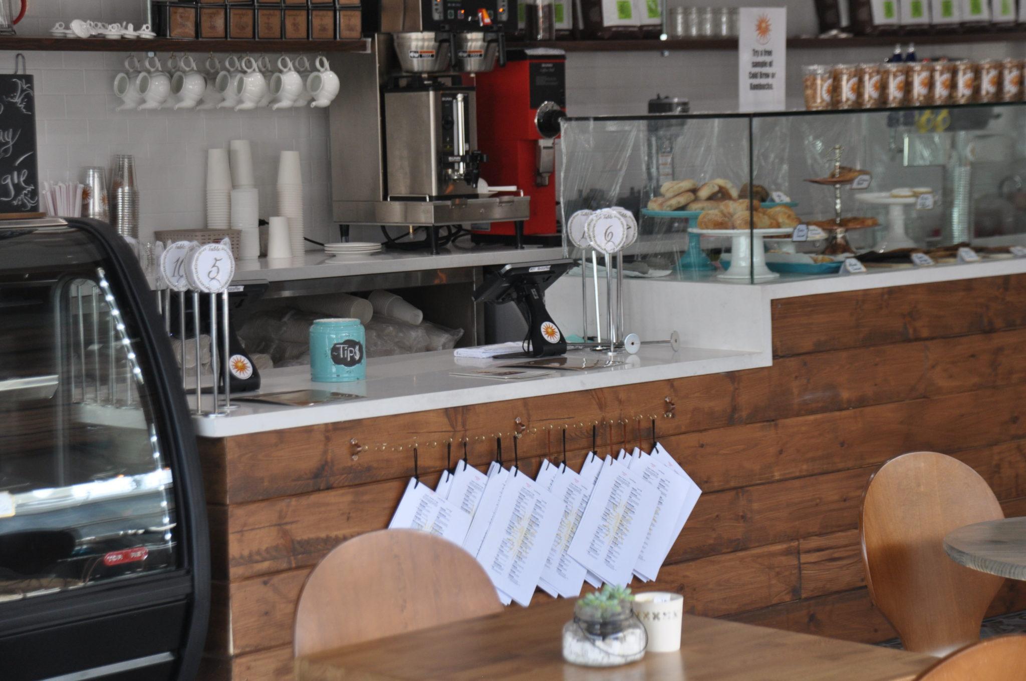 Cafe Solar Menu