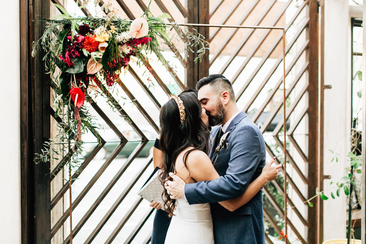 Jena-Lary-Modern Wedding at Madera Kitchen
