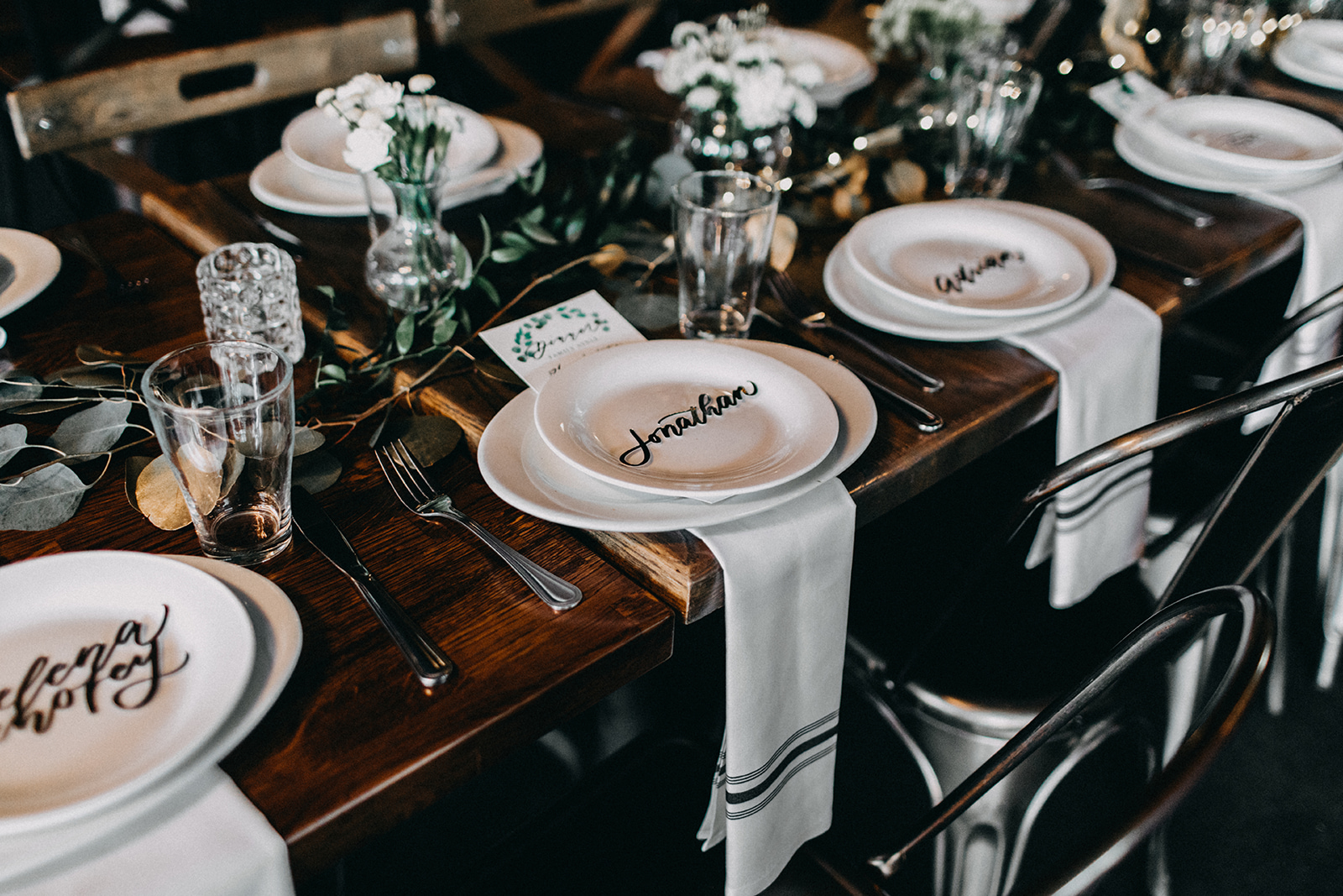 Sunny and Edsel - Modern Wedding - Madera Kitchen
