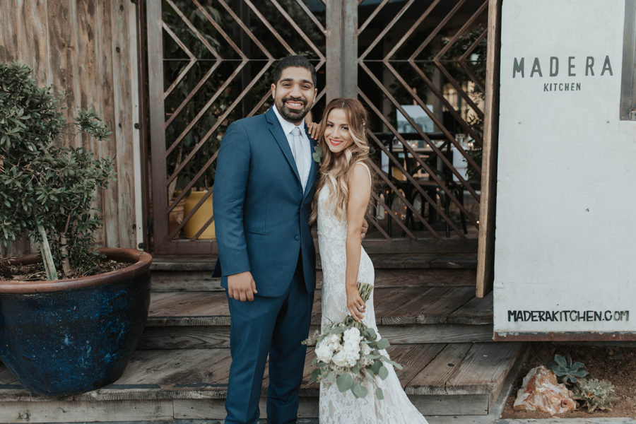 Melissa + Marco | Rustic Chic Wedding at Madera Kitchen
