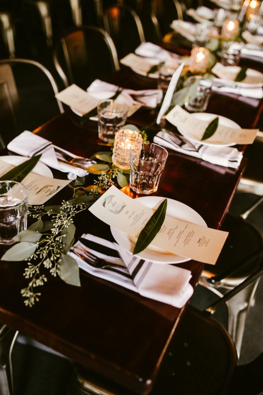 Lindsay + Junior   Industrial Chic Wedding at Madera Kitchen