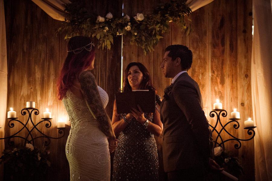 Nicole & Jesse   Candlelit Madera Kitchen Wedding
