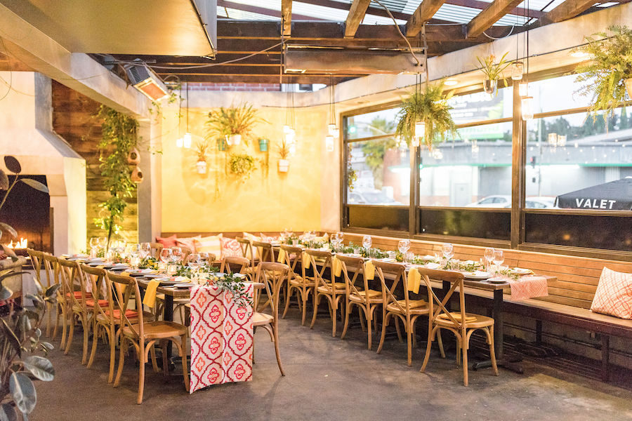 Intimate Industry Dinner at Madera Kitchen