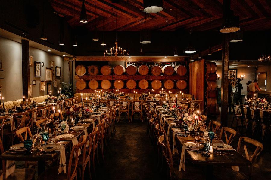 Sarah + Rico | Jewel Toned Wedding at Madera Kitchen