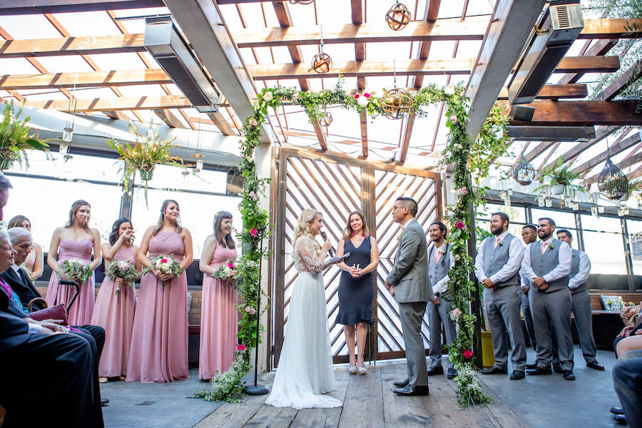 Lauren + Jon | Vibrant Outdoor Wedding
