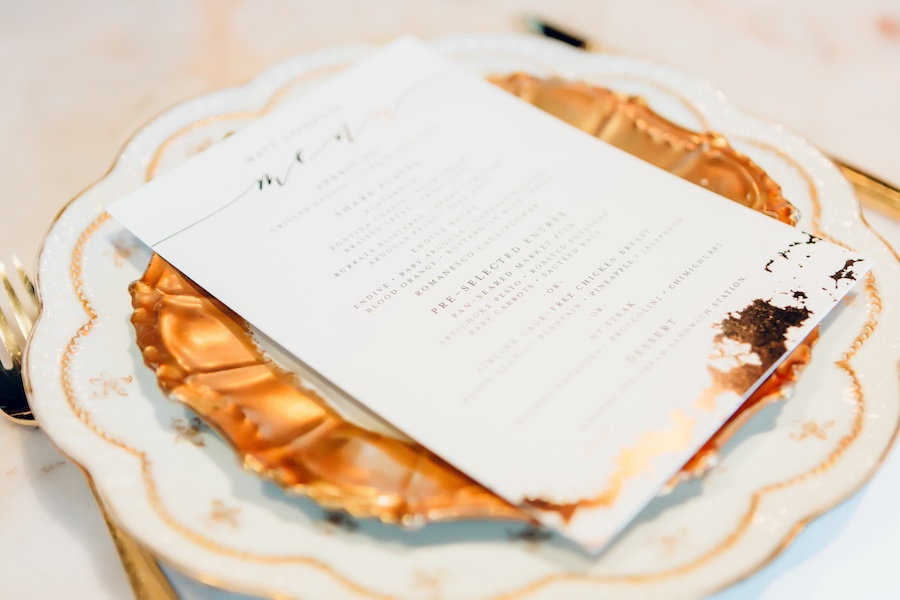 Matt + Christine | Rustic Glam Wedding