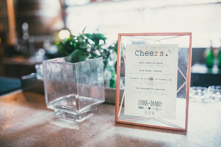 Madera Kitchen wedding cocktail hour