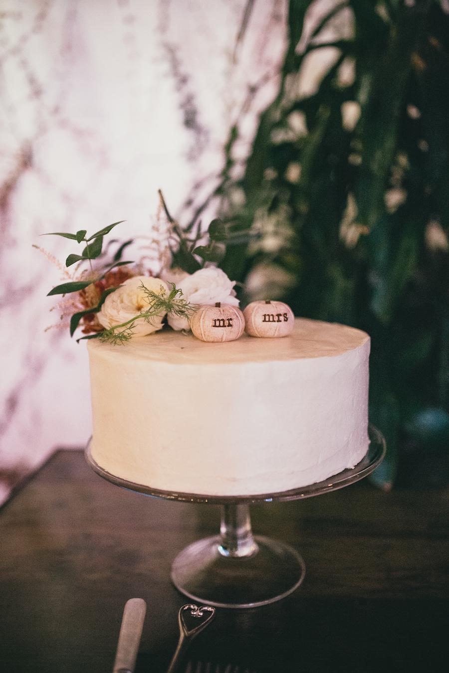 Wedding cake at Madera Kitchen