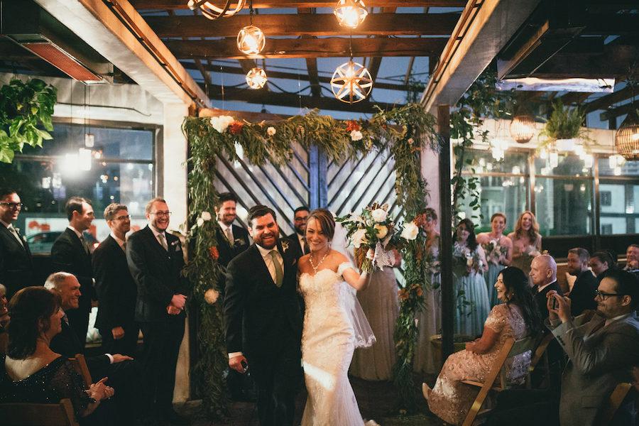 Jenna + Danny   Industrial Inspired Wedding