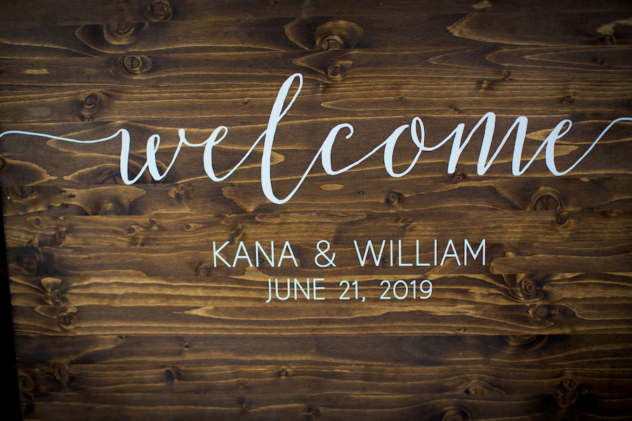 Wedding Sign Madera Kitchen Los Angeles