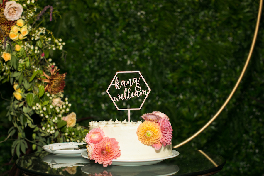Madera Kitchen wedding cake