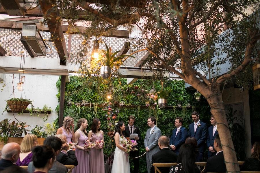 Kana + William   Romantic Garden Wedding