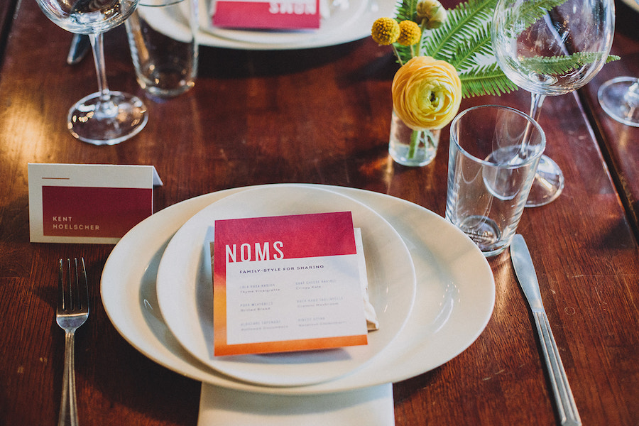 Madera Kitchen wedding reception