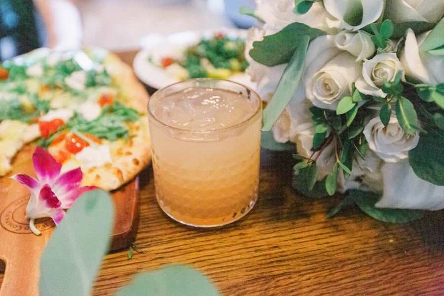 cocktail at boho restaurant in los angeles