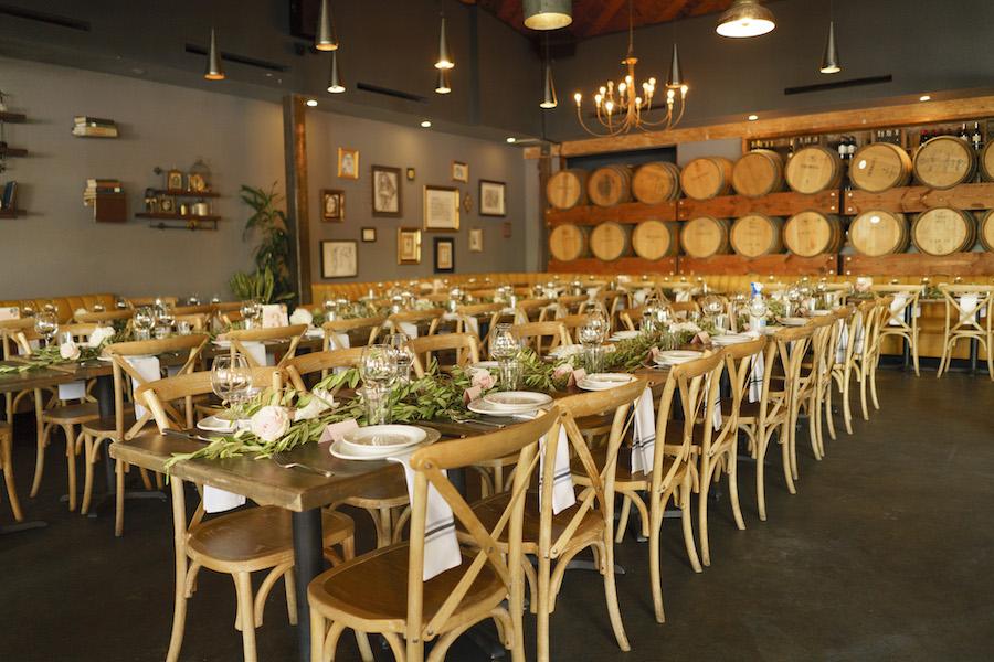wedding reception at madera kitchen la