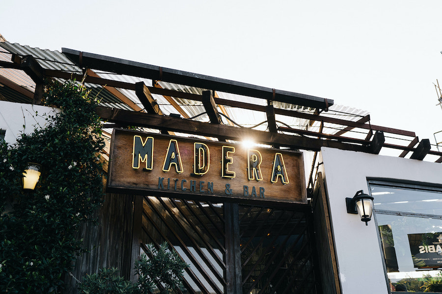 boho restaurant front in los angeles