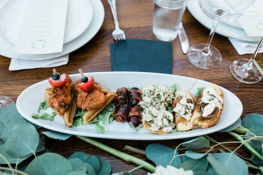 appetizers at madera kitchen in los angeles